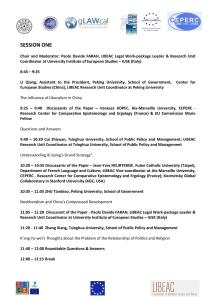 LIBEAC - August 8, 2014 - AGENDA OF THE WORKSHOP final version PAGE 2