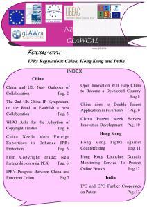 Newsletter gLAWcal - Issue 25, 2014 - Index